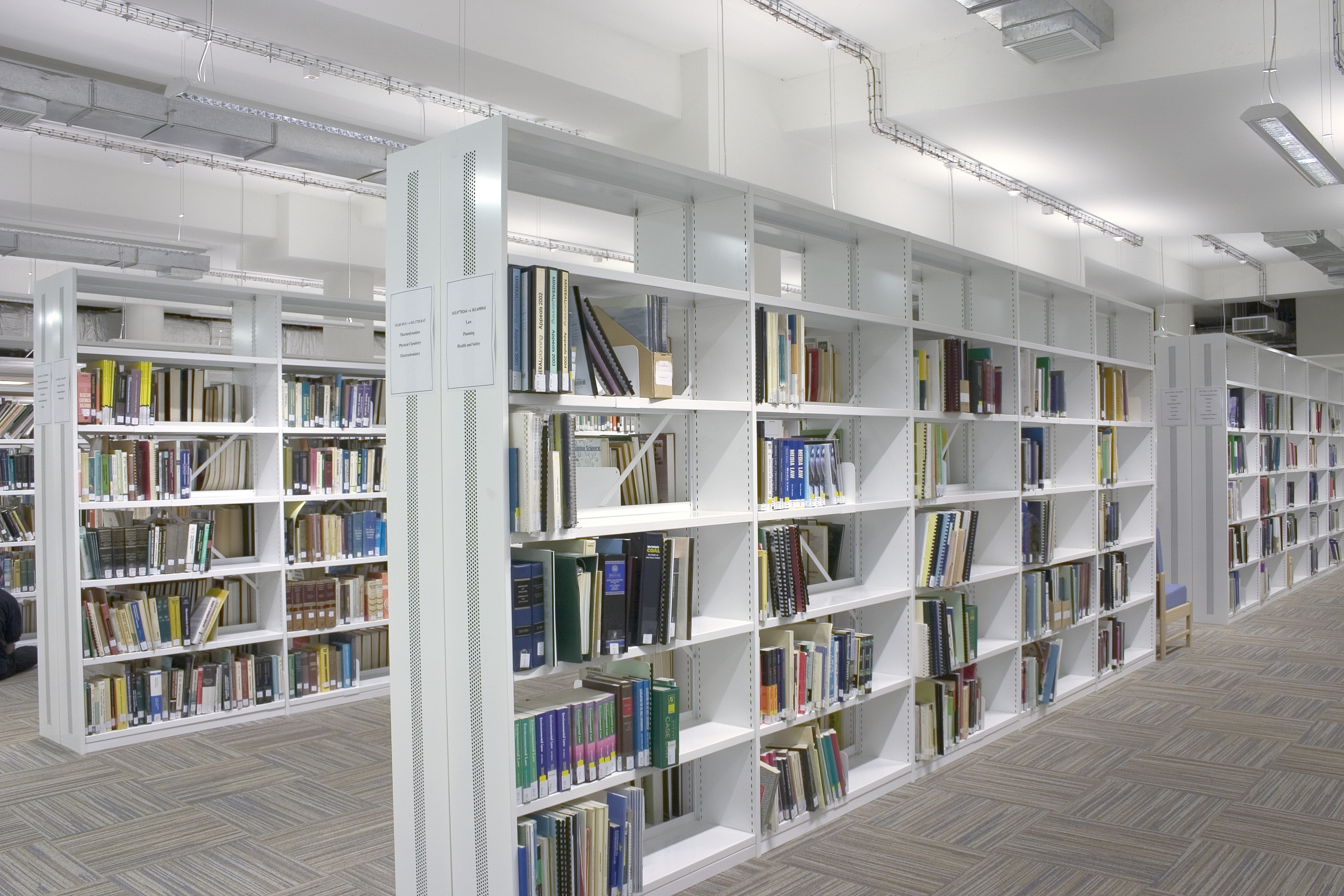 Library Shelving Storage Stacks